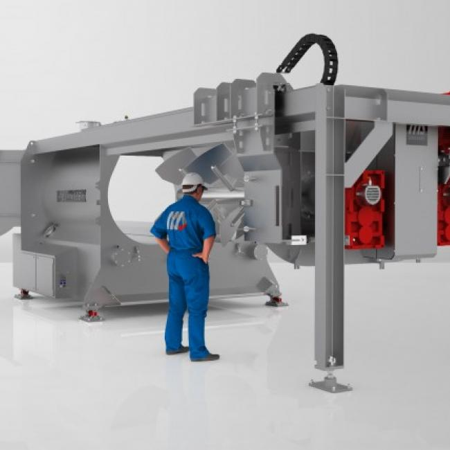New Pegasus® Mega-Mixer offers great chances for food producers