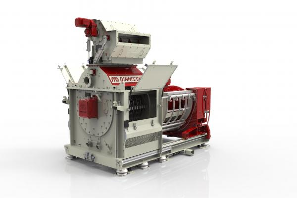 Hamex Hammer Mill with semi automatic sieve change system open
