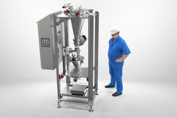 Latest feeder valve innovation: the micro dosing system with an accuracy of 1 gram