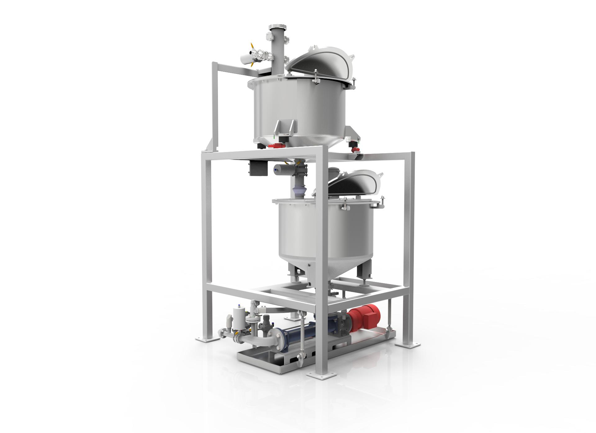 Liquid dosing unit